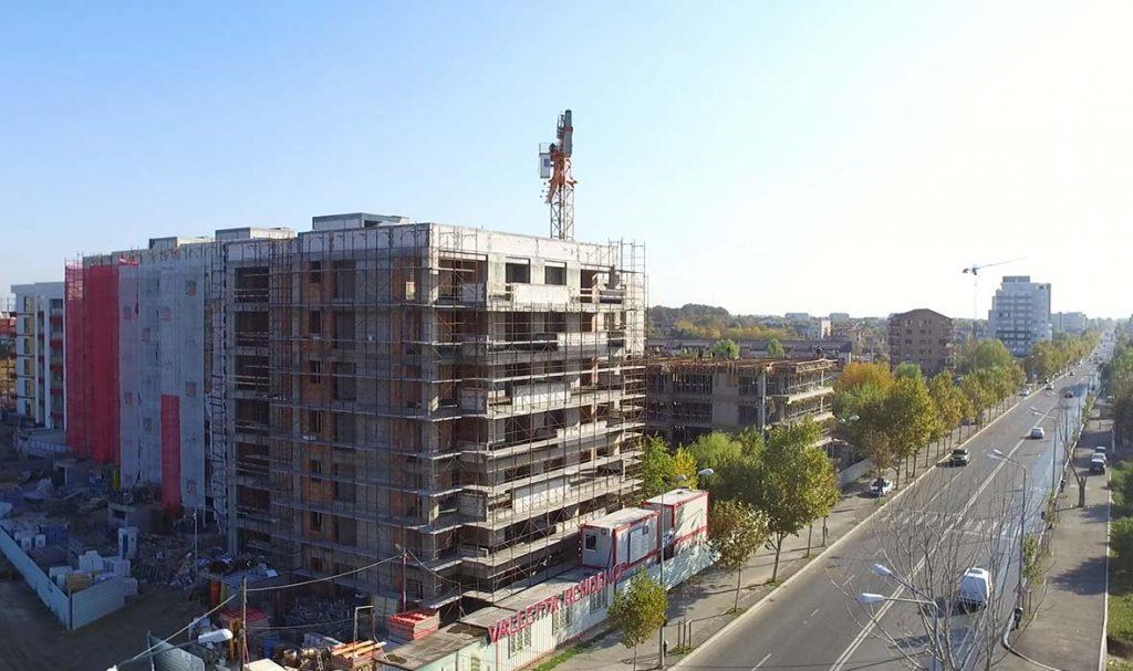 Stadiu lucrări în octombrie 2017